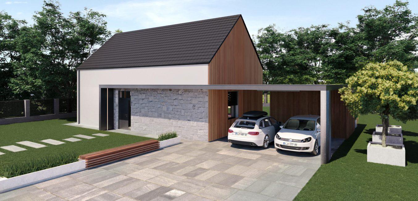3d vizualizacija hiše