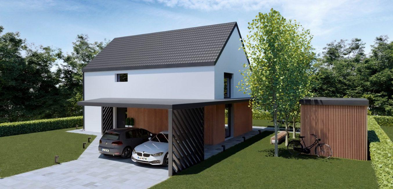 Vizualizacija hiše